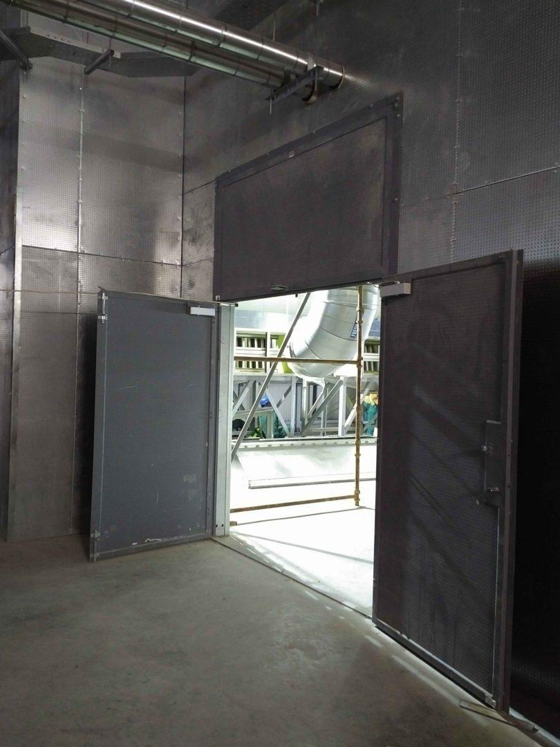 Oversized Fire Doors