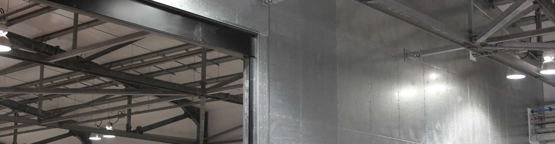 Durasteel Fire Barrier Protects Multi-Million Pound Aircraft Hanger