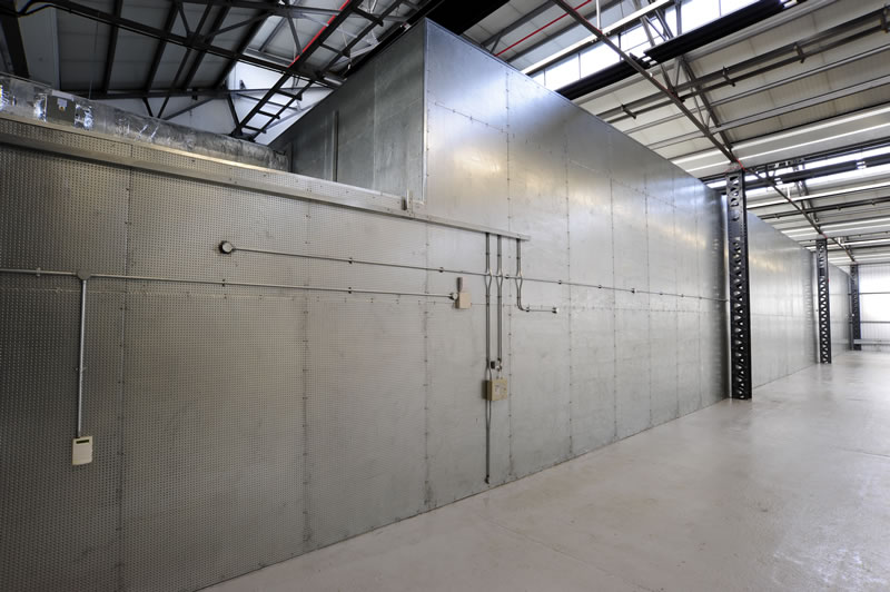 Fireproof Vault Protects Council Records