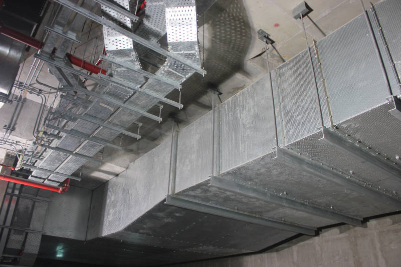 OTE Exhaust Duct For Doha Metro
